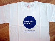 Population Matters T-Shirt