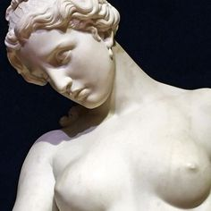 """"""" Saffo abbandonata"""" (1857) Giovanni Dupré"""