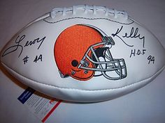 Leroy Kelly Cleveland Browns Footballs