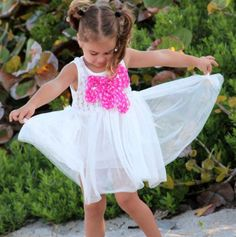Dress with Bow - Mia Belle Baby - Events