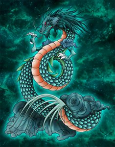 Shiryu Dragon Tattoo Pictures To Pin On Pinterest