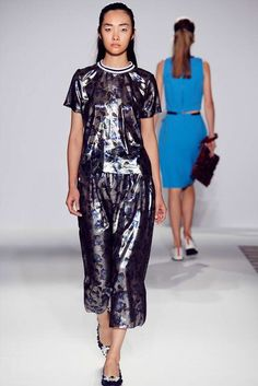Mother of Pearl - Spring RTW 2015