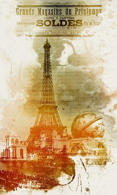 Grands Magasins du Printemps by Fabien Barral