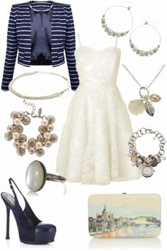 Cute outfit for a wedding