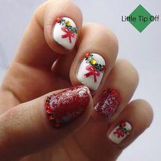 Christmas by littletipoff #nail #nails #nailart