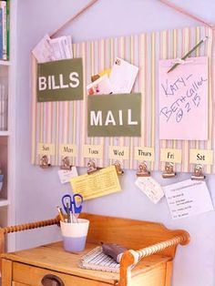 Bill/Mail organizer.  Maybe this will solve the problem of my piles everywhere.