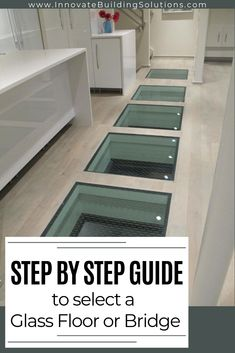 A Step by Step Guide to Select a Glass Floor or Bridge A Step by Step Guide to Select a Glass Floor or Bridge Innovate Building Solutions innovatebuild Design Glass floors and nbsp hellip Flooring Best Flooring, Flooring Options, Flooring Ideas, Innovation, Glass Bridge, Rubber Tiles, Glass Floor, Rubber Flooring, Glass Blocks