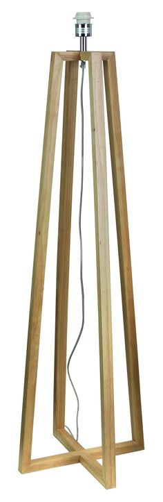 Floor+Lamp+Base+in+Natural+Timber+113cm+Malmo+Oriel+Lighting