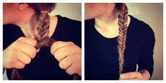 Fishtail braid how-to #diy #braid