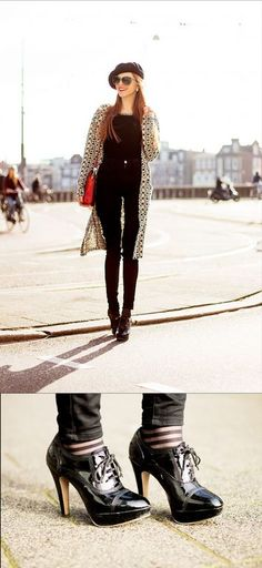 black jeans  would be 2-Casual without the cardigan