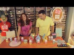Since it is the beginning of a new year, we want to start it off right by educating you about Mod Podge. If you are new to Mod Podge or even if you have been using it for several years this video from Cathie and Steve is sure to be informative. Mod Podge has been around for years. Do you know the 8 original formulas? Watch this video hosted by Cathie Filian and Steve Piacenza to learn all about them, and what types of crafts they should be used on.