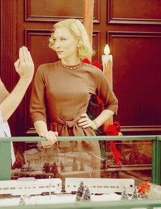 CATE BLANCHETT — carolmovie:   Carol behind the scenes