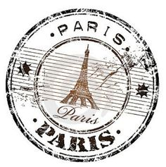 Illustration about Abstract grunge rubber stamp with the Eiffel Tower symbol and the name Paris written inside the stamp. Illustration of history, grungy, attraction - 8928221 Paris Party, Paris Theme, Etiquette Vintage, Foto Transfer, I Love Paris, Paris Girl, Thinking Day, Vintage Paris, Vintage Labels