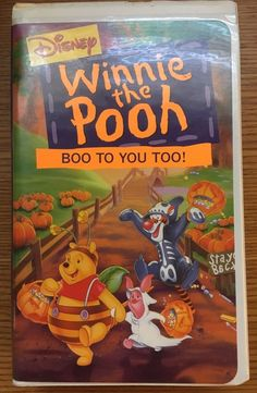 Winnie the Pooh - Boo to You Too! (VHS, 1997)