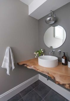 Did you know that the Bathroom Countertops or toilet is one of the main items of decoration to enhance and define the style of your environment? Laundry Room Bathroom, Bathroom Countertops, Wooden Decor, Bathroom Interior Design, Amazing Bathrooms, Home Decor Bedroom, Powder Room, Toilet, Sweet Home