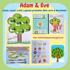 Bible Fun For Kids: Genesis Series: Adam & Eve