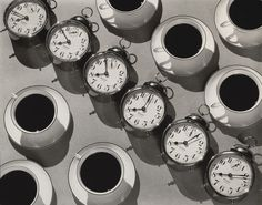 Eight OClock Coffee Ralph Steiner (American, 1899–1986)  1935. Gelatin silver print, 7 5/8 x 9 1/2 (19.3 x 24.1 cm). Gift of the photographer. Courtesy of the Estate of Ralph Steiner