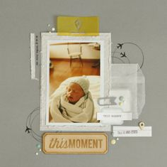 this moment  by Jody Ferlaak using the Cocoa Daisy March kit, Grey Street and add ons,