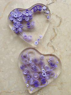 Hearts - Quilling