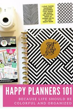 You're going to have so much fun with your new Happy Planner! If you're feeling a little overwhelmed, here are some of my favorite posts and other resources for beginnersto get you sta…