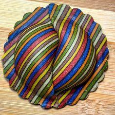 "ChefsTalk on Instagram: ""Rate this Rainbow 🌈 ravioli by @david_rivillo - @chefstalk loves you #chefstalk"" Pasta Art, Ravioli, David, Rainbow, Blanket, Crochet, Instagram, Rain Bow, Rainbows"