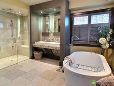 superbe salle de bain moderne lespace de la vanit est magnique ainsi que