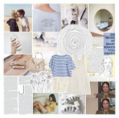"""""""you are surrounding all my surroundings"""" by same-sunset ❤ liked on Polyvore featuring NLXL, AG Adriano Goldschmied, Maje, Monserat De Lucca, L. Erickson, bedroom, kitchen, bathroom and nicolewantstoseethis"""