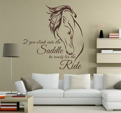 Horse-Horse Art Decal Horse Inspirational Vinyl by SignJunkies