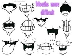 Animal's mouths - more difficult