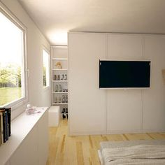 wie kann ich einen begehbaren kleiderschrank in mein schlafzimmer integrieren begehbarer. Black Bedroom Furniture Sets. Home Design Ideas