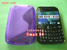 Jual Silikon Soft Case S-Line Curve Blackberry Wynton 9310 / Amstrong 9320 Ungu (Purple)   KODE BARANG : 1465   Toko Online Rame
