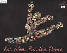 5x7 Personalized gift for DANCE TEACHER by NameOnYourWall | Ideas ...