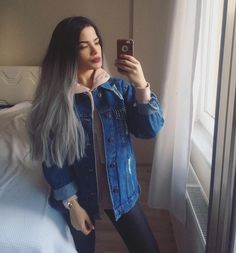 Selfie time!!our sweet babe @melike.arzu is totally rocking this grey ombre wig.Do you love this wiggirls?wig sku:edw1088 Use Coupon Code: INS to get 10% Off on your order. www.everydaywigs.com #everydaywigs#wig#hairstyle#hairstyleforgirls#straightwig#greywig#longhair#hairstyles#lacefrontwig#beauty#frontlacewig#frontlacewigs#syntheticwigs#synthetic#bigsale#beauty#selfietime