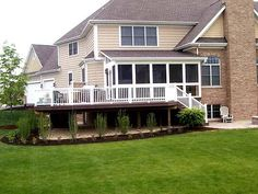 Screened in Porch & Deck