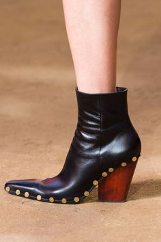 b4c7541e7 Spotlight: The Best Shoes From Paris Fashion Week. Shoe BootsHigh Ankle ...