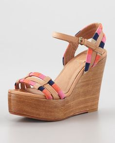 a48adab1621759 Contemporary Fashion-Forward Trends at Neiman Marcus. Low Wedge SandalsWedge  ...