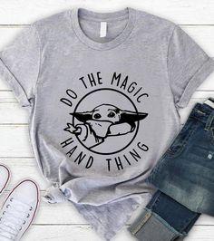 Do the magic hand thing baby-Yoda the mandalorian t-shirt - Princess T Shirt - Ideas of Princess T Shirt - Do the magic hand thing baby-Yoda the mandalorian t-shirt Disney World Outfits, Cute Disney Outfits, Trendy Outfits, Cute Outfits, Disney Clothes, Emo Outfits, Disneyland Outfits, Fandom Outfits, Tomboy Outfits
