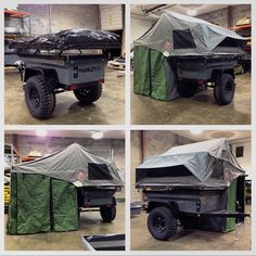 Manley ORV, 3 Dog Camping Tent - looks like a load of expensive shit on a Sankey Trailer if u ask me..... good ideas though.....