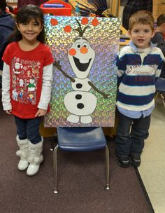 Pin the nose on Olaf :)