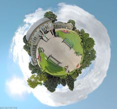 Sheffield Botanical Gardens: 'My first little planet. I like the symmetry, and the way the building clings onto the ground'