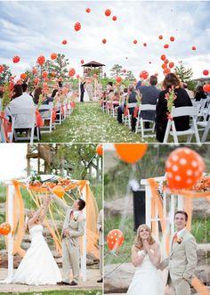 Funky Wedding: Idee per un matrimonio anticonvenzionale: i palloncini! *Wedding Balloons*