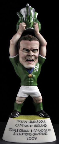 Brian O'Driscoll & Cup Grogg - Ireland