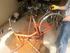 Bicycle form the Communist era.