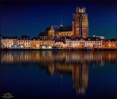 Photograph The Church of Dordrecht (color version) by Herman van den Berge on 500px
