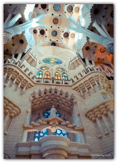 Sagrada Familia, Barcelona, Spain ! Antoni Gaudi left his signature everywhere !!! Flickr - photo sharing !!!