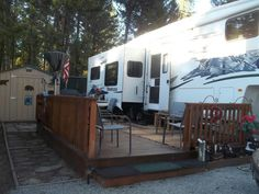 Our 5th wheel at LMR