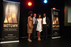Aisha Jawondo, Berry Gordy, Lucy St. Louis for Motown: The Musical!