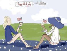 Independence Day Pictures, Happy Independence Day, Rose Hill Designs, Happy Fourth Of July, July 4th, Hello Weekend, Happy Weekend, Cute Illustration, Memorial Day