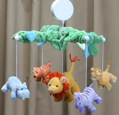 King of the Jungle Baby Mobile | Shop entertainment | Kaboodle