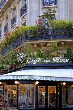 Paris Cafe/Bistro   ~ Cafe de Flore